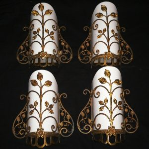 Stunning Antique Georgian Dore Bronze Sconces -- ONE PAIR AVAILABLE-0