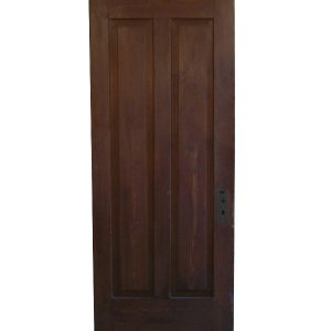Antique Two-Panel Solid Wood Door