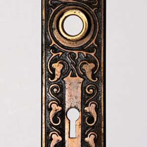 "Antique Eastlake ""Amarat"" Door Plates by Russell & Erwin, c. 1900-0"