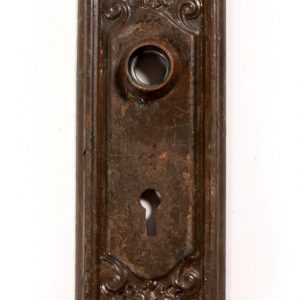 Stately Antique Neoclassical Doorplates, c. 1905-0