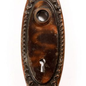 "Antique ""Lydian"" Doorplates by Yale & Towne, c. 1910-0"