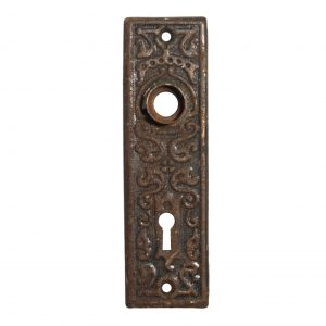 Antique Eastlake Doorplates, c. 1910-0