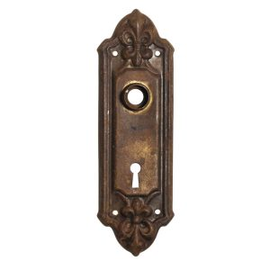 "Antique ""Fleuroy"" Doorplates by Reading Hardware, c. 1910-0"