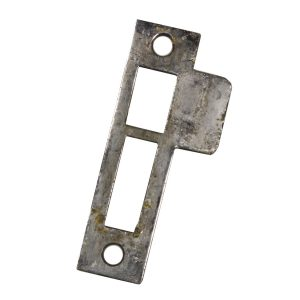 "Antique Strike Plates for Mortise Locks, 5/32"" Spacing-0"
