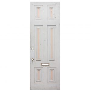"Salvaged Antique 30"" Exterior Door-0"