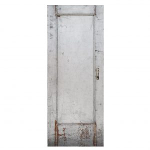 "SOLD Reclaimed Antique 32"" Industrial Fire Door -0"