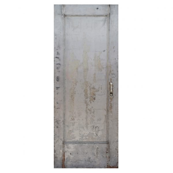 "SOLD Salvaged Antique 32"" Industrial Fire Door -0"