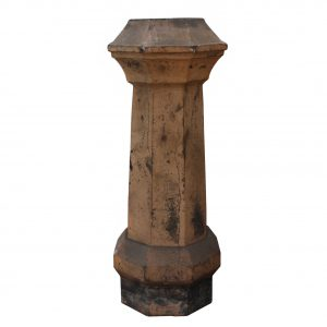 Reclaimed Antique Terra Cotta Chimney Pot, Early 1900's-0