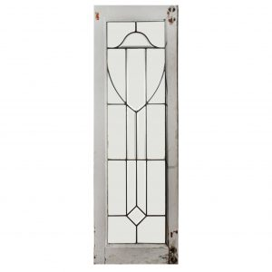 Fantastic American Leaded and Beveled Glass Windows-0