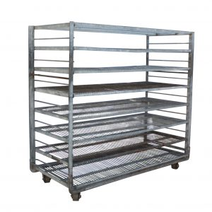 Reclaimed Industrial Shelving Units, Colonial Bread-0