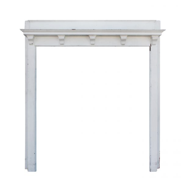 Understated Antique Fireplace Mantel, Robert Mitchell Furniture Co.-0