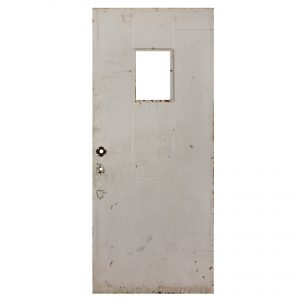 "Salvaged Antique 34"" Plank Door-0"