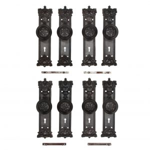cast iron door hardware sets