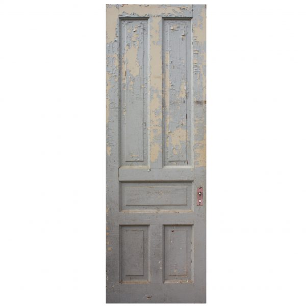 Reclaimed Antique Five-Panel Door front