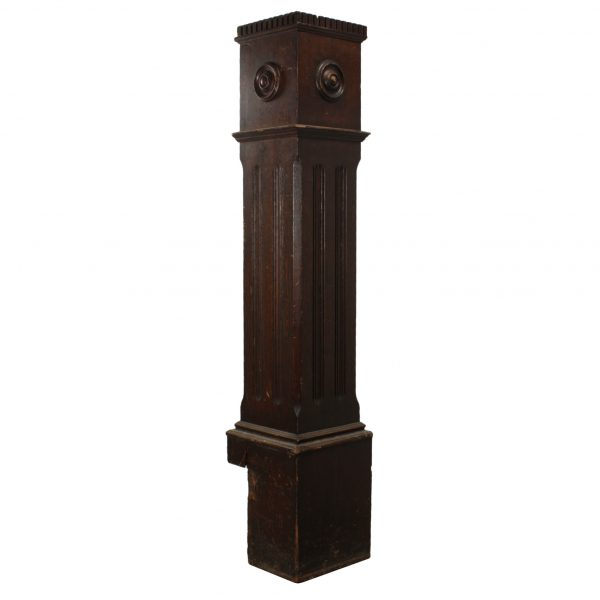 Reclaimed Antique Newel Post