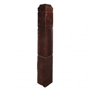 Reclaimed Antique Boxed Newel Post, 19th Century-0