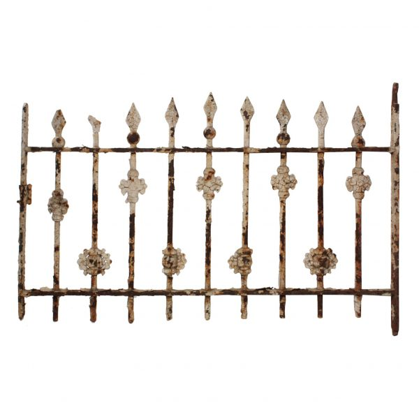 Antique Iron Window Guard, Early 1900s-0
