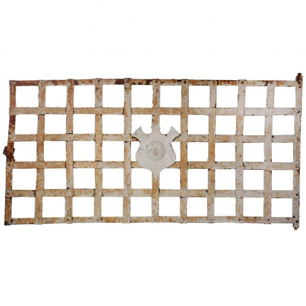 Antique Window Guard with Shield-0