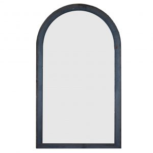 Salvaged Antique Arched Window, 19th Century-0