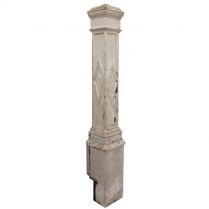 Salvaged Antique Eastlake Boxed Newel Post-0