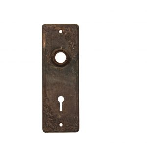 "Antique ""Lyons"" Doorplates by United States Steel Lock Co., c.1907-0"