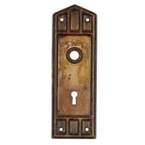 Antique Mission Door Plates, Early 1900's-0