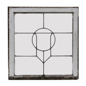Antique Arts & Crafts American Leaded Glass Windows-0