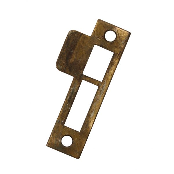 "Antique Strike Plates for Mortise Locks, 1/8"" Spacing-0"