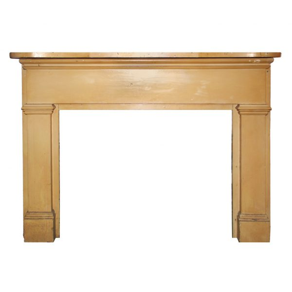 Reclaimed Antique Fireplace Mantel, Early 1900s-0