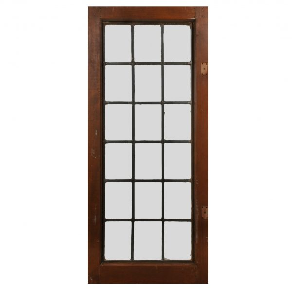 Antique American Leaded Glass Window-0