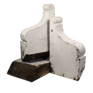 Salvaged Antique Corbels, Late 19th Century-0