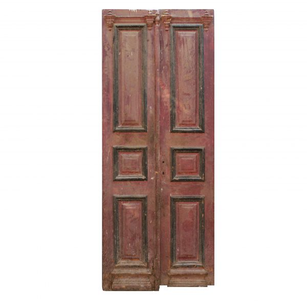 Reclaimed Old Door Pair from France, 19th Century-0