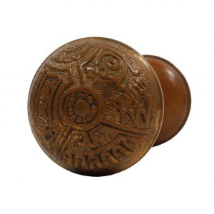 "Antique Eastlake ""Ceylon"" Door Knob Sets by Corbin, c.1895-0"