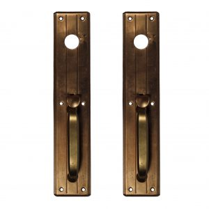 Brass Exterior Handles, Antique Hardware-0