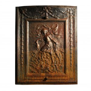 Antique Neoclassical Figural Summer Cover, 19th Century-0