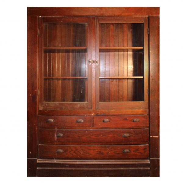 Antique Butler's Pantry Cabinet, Early 1900's-0