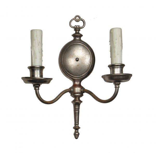 Matching Antique Colonial Revival Sconces, c. 1920-0