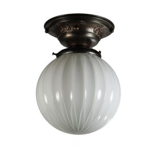 Neoclassical Flush Mount Light, Antique Lighting-0