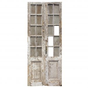 "Salvaged 40"" Pair of French Doors-0"