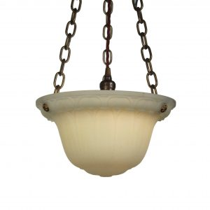 Antique Neoclassical Inverted Dome Chandelier, c. 1920's-0