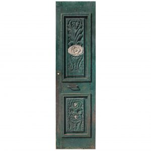 "Reclaimed 26"" Door with Carved Details-0"