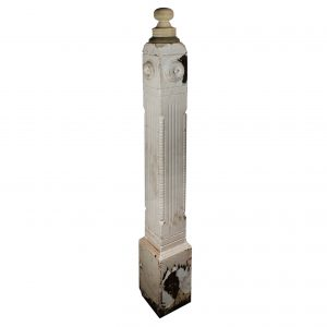 Reclaimed Antique Newel Post, c.1890-0