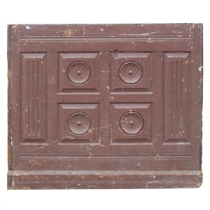 Reclaimed Antique Eastlake Wood Panel -0