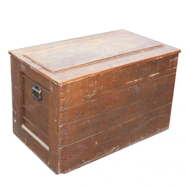 Reclaimed Antique Wood Trunk-0