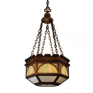 Antique Gothic Revival Pendant Light-0