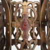 Antique Spanish Revival Five-Light Chandelier, Early 1900s-70538