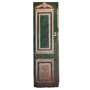 "Salvaged 28"" Door with Carved Details-0"