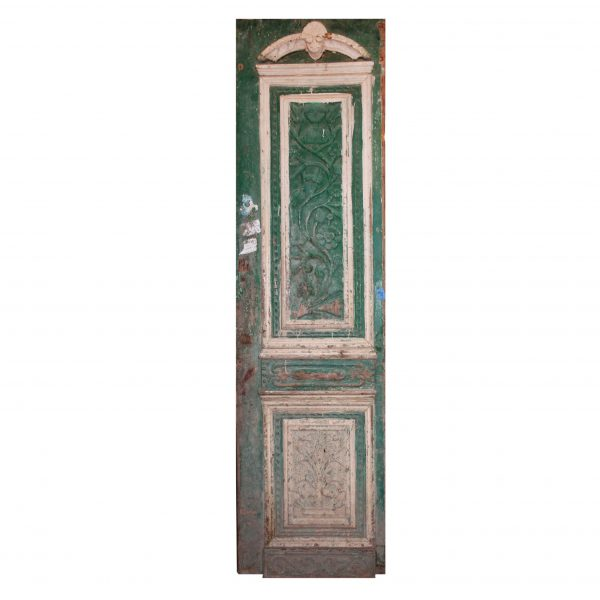 """Reclaimed 28"""" Door with Carved Details-0"""