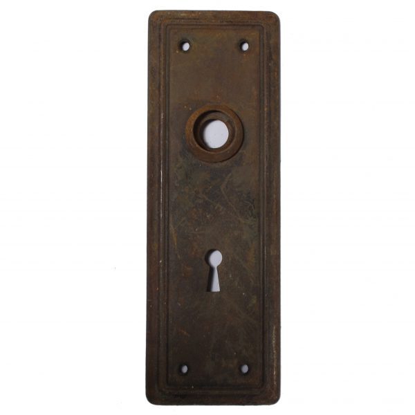 Reclaimed Antique Doorplates, early 1900s -0