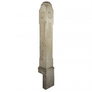 Reclaimed Antique Newel Post, Late 19th Century-0